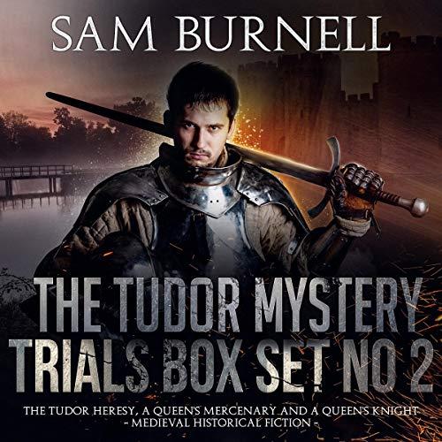 The Tudor Mystery Trials Box Set No 2 audiobook cover art
