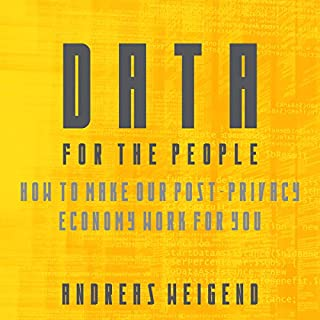 Data for the People audiobook cover art