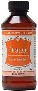 LorAnn Orange Bakery Emulsion, 16 ounce bottle