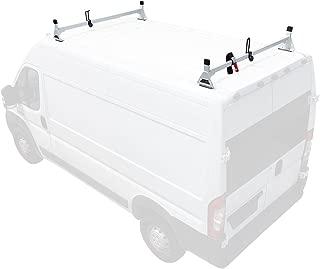 Steel H1 2 Bar Van Rack System for RAM ProMaster 2013-On White