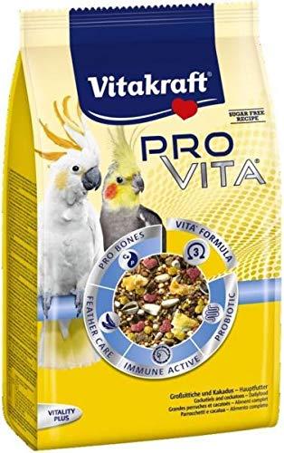 Vitakraft Pro Vita, Großsittisch und Kakadu Futter - 750g