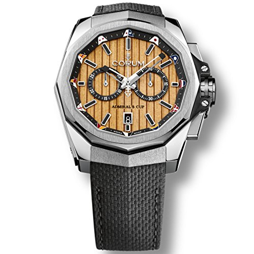 Corum admiral' S Cup ac-one 45 116.101.20/F249 TB20 vitello nera...
