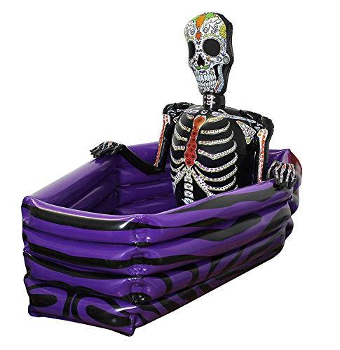 ILOVEFANCYDRESS Halloween Bevande Borsa Termica Gonfiabile BARA Giorno dei Morti Scheletro Perfetto per Halloween