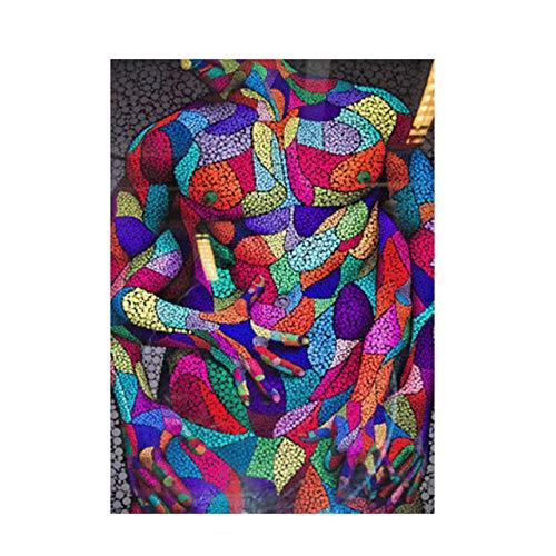 WOMGD® Abstracte knuffel minnaar legpuzzels, educatief spel houten puzzel 1000 stuk, voor woonkamer Cuadros Home Decor