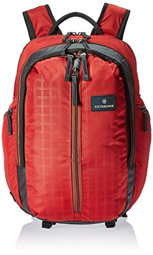 Victorinox Altmont 3.0 Vertical-Zip Laptop Backpack with Sternum Strap, Red/Black, 19.2-inch