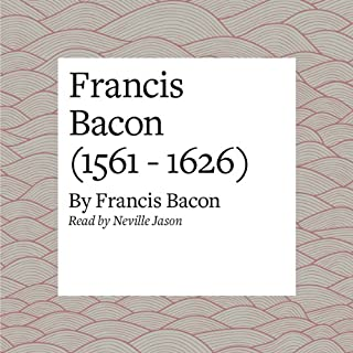 Francis Bacon (1561 - 1626) audiobook cover art