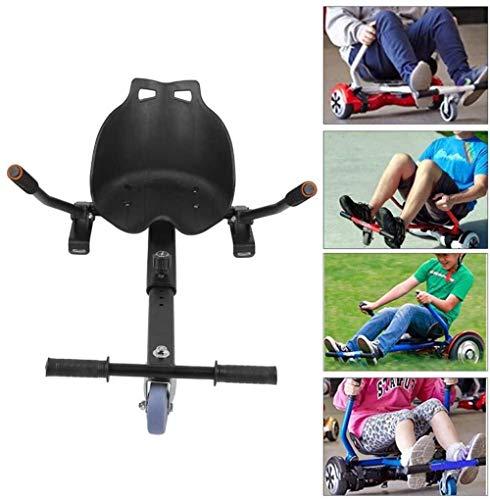 JWCN Go Kart Hoverboard Sitzbefestigung - Hover Board Cart für selbstausgleichende Roller kompatibel - Für Buggys, die Sich in Go-Kart 6,5 8 10 Zoll verwandeln Uptodate