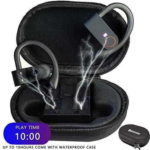 Wireless Earbuds,Bluetooth 5.0 Headphones Running Sport Headphones :8 Hours Playtime ,IPX7 True TWS Built in Mic Headset Premium Sound with Deep Bass