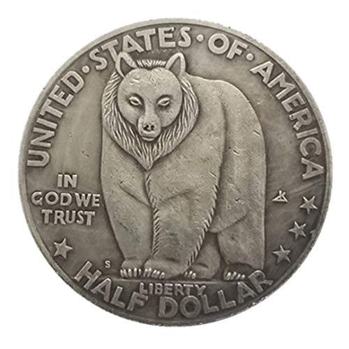 Ccyyy Moneda de Plata Antigua colección Exterior de Estados Unidos 19