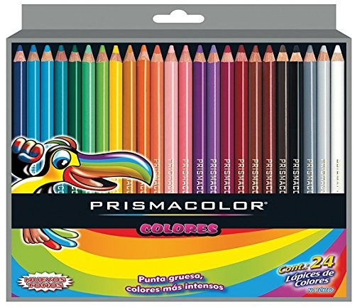 Prismacolor Scholar Colored Pencil Set, 24 Pack (24 Pencils)