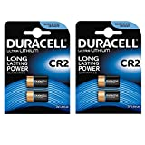 Duracell Ultra Photo Lot de 2 piles Lithium 3 V Lot de 2