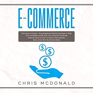 E-commerce: This Book Includes - Dropshipping & Retail Arbitrage in 2019  audiobook cover art
