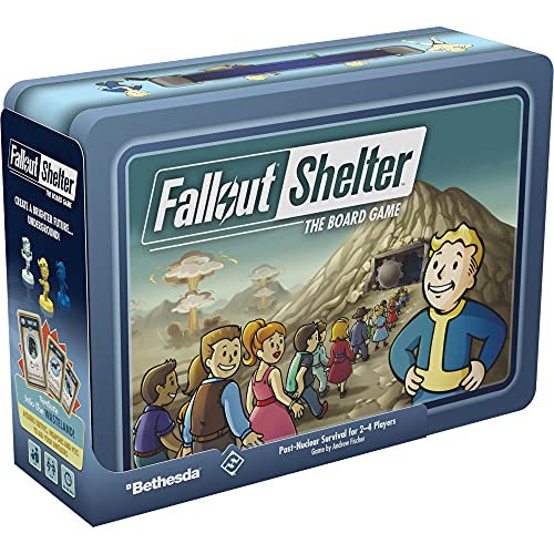 Fallout Shelter The Board Game (Base) | Strategy Board Game |...