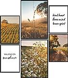 Papierschmiede® Mood-Poster Set Fields of Gold | Bilder