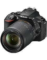 Nikon D5600 AF-S 18-140mm 3.5-5.6G ED VR Lens Kit - 24.2 MP DSLR Camera Black