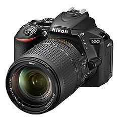 Nikon D5600 Kit AF-S DX 18-140 VR SLR Camera (8,1 cm (3,2 inch), 24,2 megapixels) zwart*
