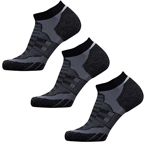 Pure Athlete Low Cut Wool Running Socks