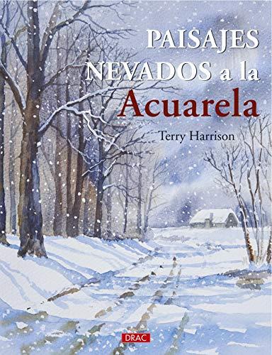 Paisajes nevados a la Acuarela