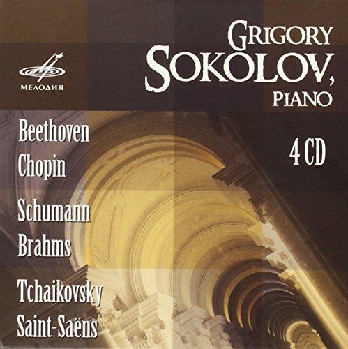 Grigory Sokolov: Piano Music [Grigory Solokov] [Melodiya: MELCD 1002078] by Grigory Solokov (2013-12-16)