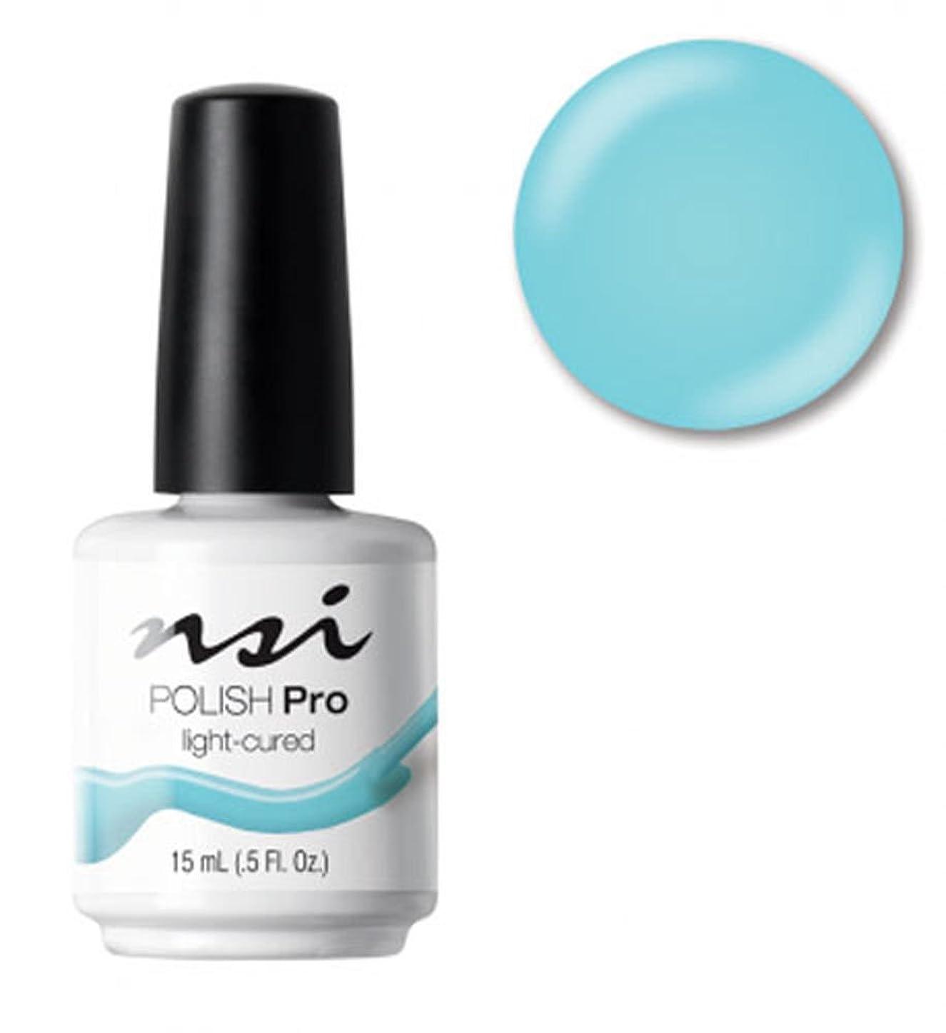 ドナウ川充電怠NSI Polish Pro Gel Polish - Dreaming of Blue - 0.5oz / 15ml