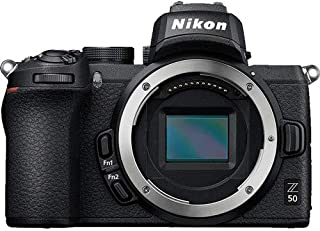Nikon Z50 Mirrorless Digital Camera (Body Only) - Black