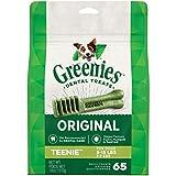 GREENIES Original TEENIE Natural Dog Dental Care Chews Oral...