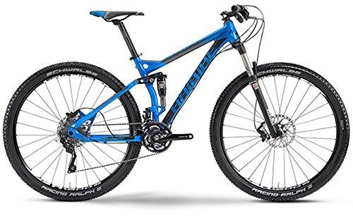 """Impact RC Haibike 29\"""" 2014 MTB Fully Hai Bike blau/schwarz/grau (Rahmenhöhe 48)"""