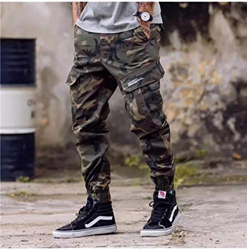 TOSISZ Fashion Classical Army Pants High Street Cotton Jeans Men Jogger Pants Brand Designer Big Pocket Military Cargo Pants Men Jeans