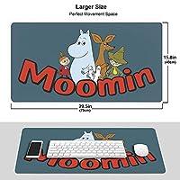 ムーミン (11) 多用途のマウスパッド 人気 大型 ゲーミングマウスパッドオフィス用 防水 滑り止め 水洗 マウスパッド 耐久性が良い ラバー厚手マット