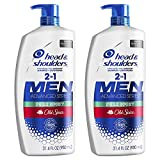 Head and Shoulders Shampoo and Conditioner 2 in 1, Anti Dandruff Treatment and Scalp Care, Old Spice Pure Sport , 31.4 Fl Oz, Twin Pack