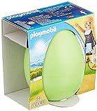 PLAYMOBIL- Ostereier Huevo Niña con Gansos, Color carbón (70083) , color/modelo surtido