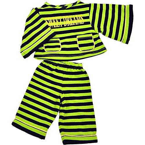Marionnettes De La Vie W657 Pyjama de poupée main