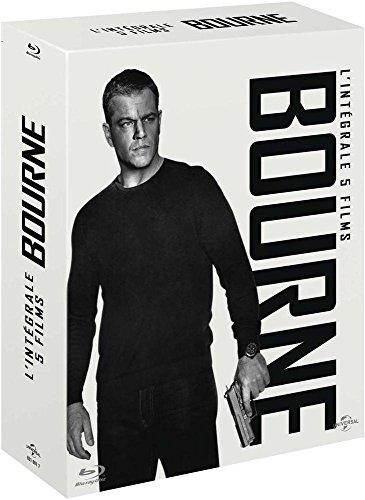 L'intégrale : La mémoire Mort Vengeance dans la Peau + Jason Bourne : L'héritage [Blu-Ray]