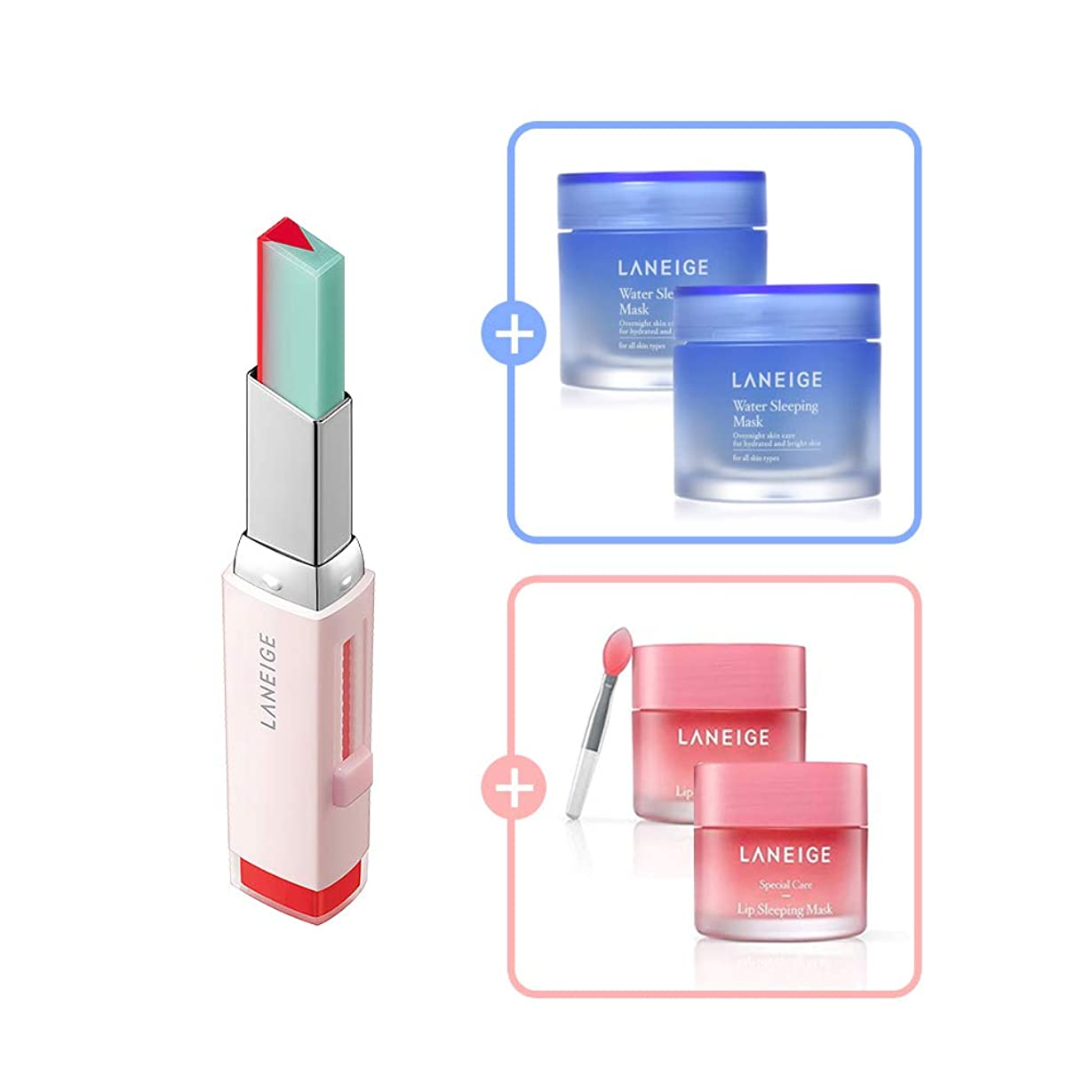 静脈ホテル精査Two Tone Tint Lip Bar 2g (No.3 Tint Mint)/ツートーン ティント バー 2g (No.3 ティント ミント) [数量限定!人気商品のサンプルプレゼント!]