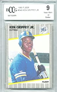 1989 fleer ken griffey jr 548
