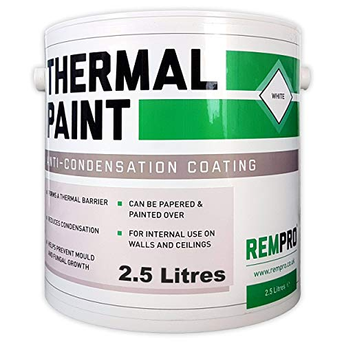 Rempro Thermal Paint 2.5 Litres - Anti Mould &...