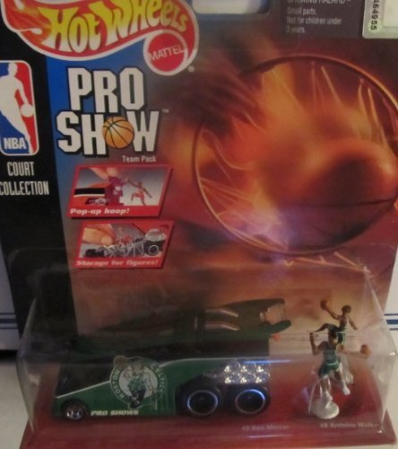 Boston Celtics Hot Wheels Pro Shows Team Pack