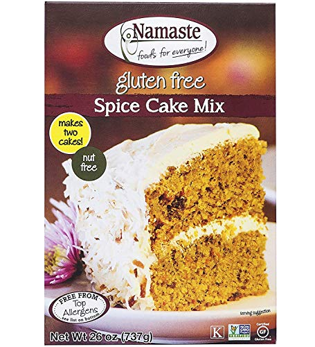 Namaste Foods, Gluten Free Spice Cake Mix, 26-Ounce Bags (Pack of 1)