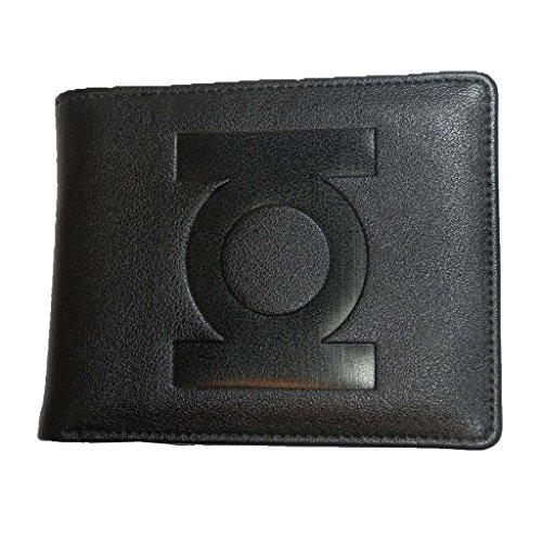 Oficial DC Comics Linterna Verde Negro Bi-Fold Wallet Dentro de impresión cómica - en Caja