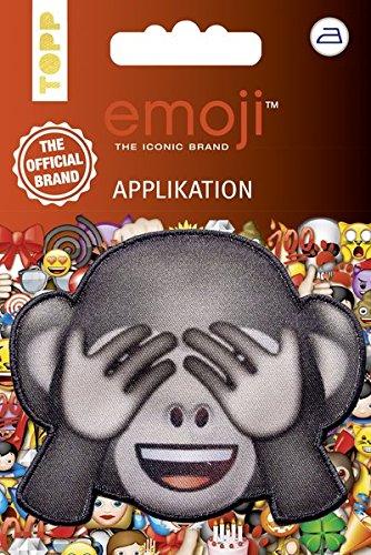 Emoji Applikation Affe - nicht sehen: Applikation zum Aufbügeln