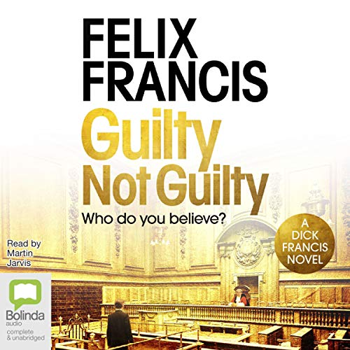 Guilty Not Guilty audiobook cover art