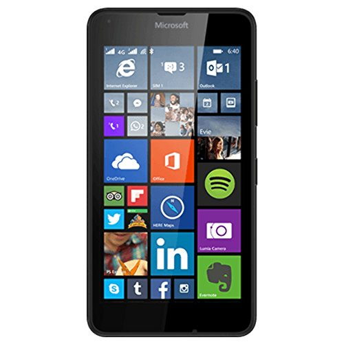 Nokia Microsoft 640Lumia Smartphone entsperrt 3g 11,4cm (: 5Zoll–8GB–Dual SIM–Windows Phone) schwarz