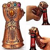 Thanos Gauntlet Guante Abridor de botellas de cerveza Soda Glass Caps Remover Kit ideal para bares, ...