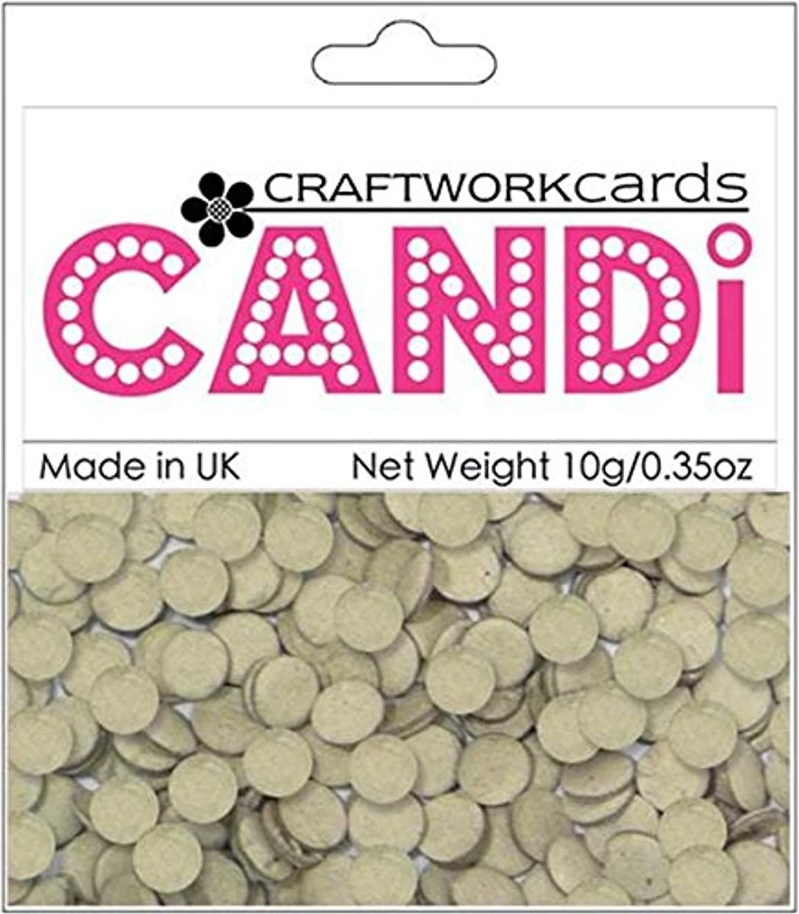 Craftwork Cards Candi Dot Embellishments, 0.35-Ounce, Chipboard