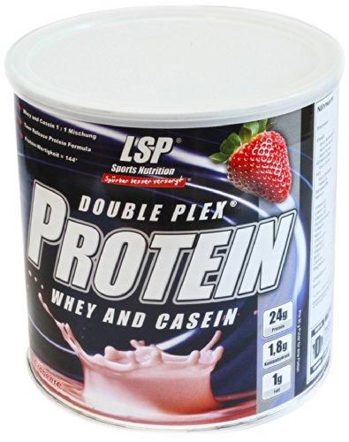 LSP Double Plex Protein Erdbeer, 1er Pack (1 x 750 g)