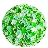 Green Rose Mix, Ø 32cm, bunte Lampe Leuchte Lampenschirm Pendellampe Pendelleuchte Hängelampe...