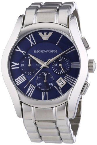 Emporio Armani Herren-Armbanduhr XL Chronograph Quarz Edelstahl AR1635