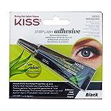 Kiss Colla Ciglia Finte Strip Adhesive Nera - 7 gr
