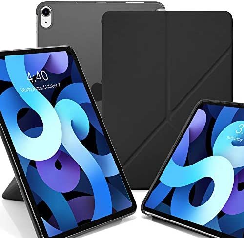 KHOMO iPad Air 4 Case 10 9 inch 2020 Dual Origami Series See Through Supports Apple Pen Charging product image