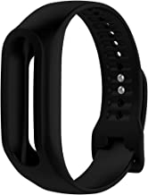 MOTONG Silicone Repalcement Band for Tomtom Touch (Silicone Black)